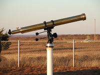 Dr. Mendenhall's Personal Telescope